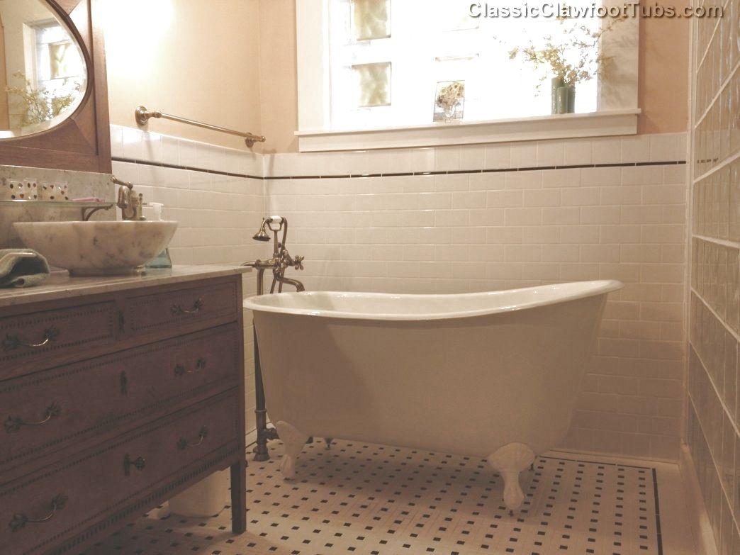 53 5 Quot Cast Iron Swedish Slipper Tub Classic Clawfoot Tub