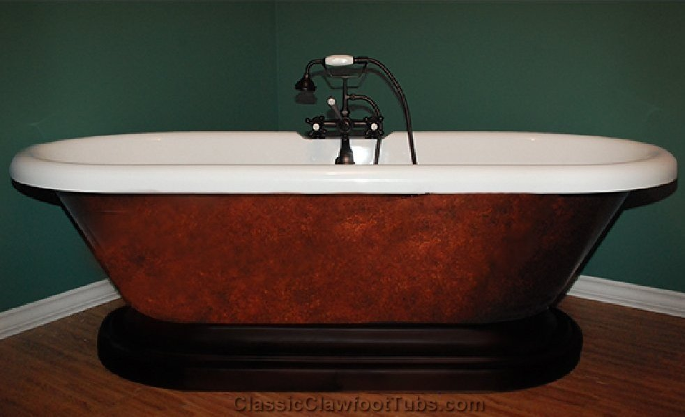 70 Quot Acrylic Double Ended Pedestal Bathtub Classic