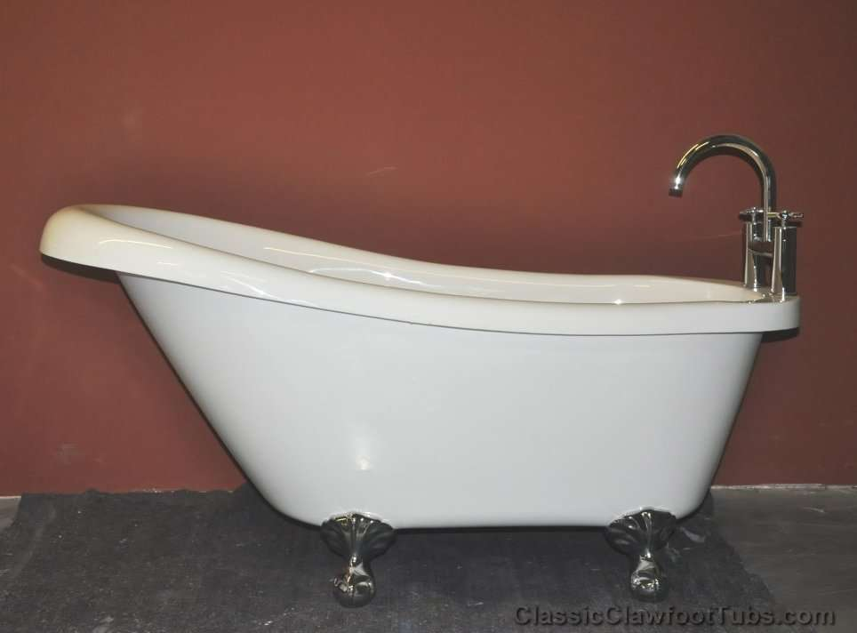 59 5 Quot Acrylic Slipper Clawfoot Tub Classic Clawfoot Tub
