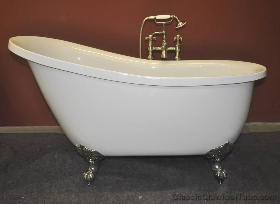 acrylic clawfoot tub package. 55  Acrylic Slipper Clawfoot Tub Classic
