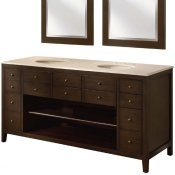 "68"" Double Bathroom Vanity"