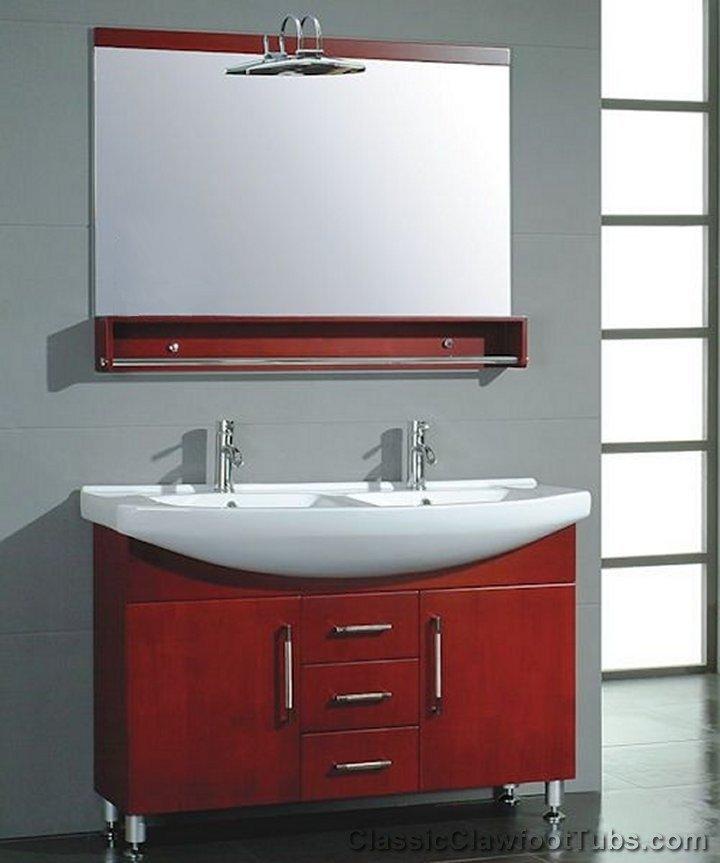Double Sink Bathroom Vanity Cabinet CP VAN 5040