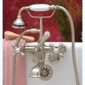 Clawfoot Tub British Telephone Faucet w/ Hand-held shower