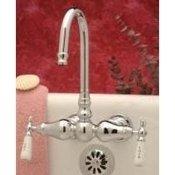 Tub Wall Bathroom Wall Mount Faucets Classic Clawfoot Tub