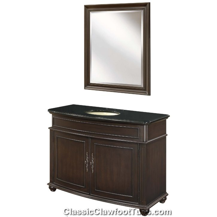 48 Vanity Cabinet Set Classic Clawfoot Tub