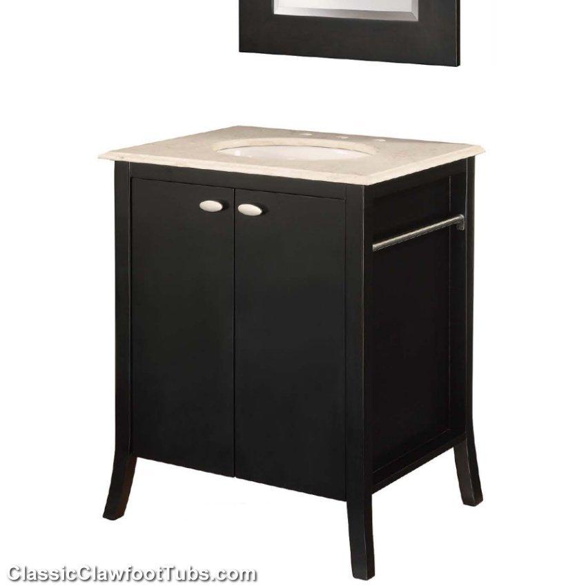 28 quot bathroom vanity classic clawfoot tub