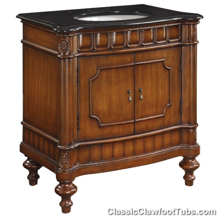 30 Old Fashioned Bath Vanity Classic Clawfoot Tub