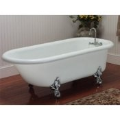 Overflow Faceplate Cover Standard Classic Clawfoot Tub