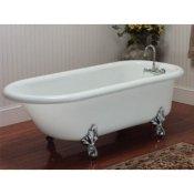 acrylic clawfoot tub package. 66 quot  Acrylic Rolled Rim Clawfoot Tub Bath Tubs Classic