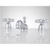 Teapot Style Widespread Faucet w/ Pop Up Drain