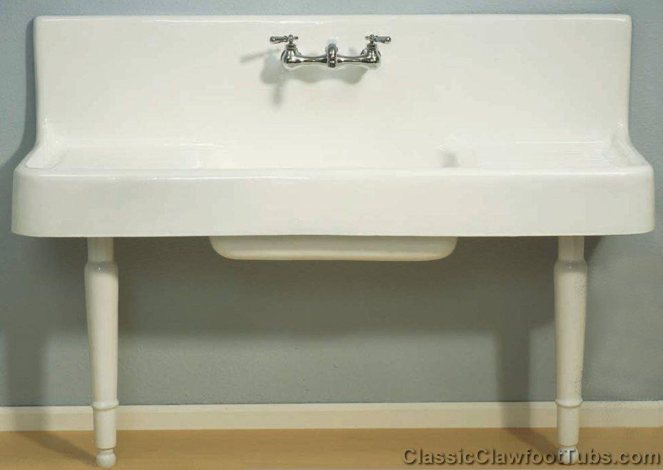 Farmhouse Drainboard Sink : 60