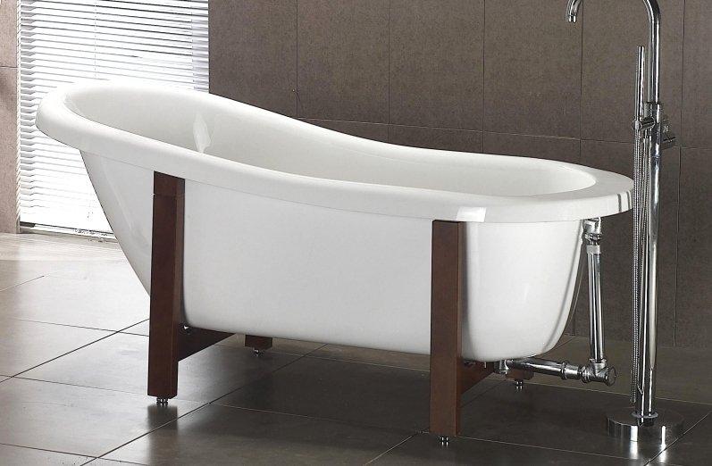 67 Quot Acrylic Slipper Clawfoot Tub Classic Clawfoot Tub