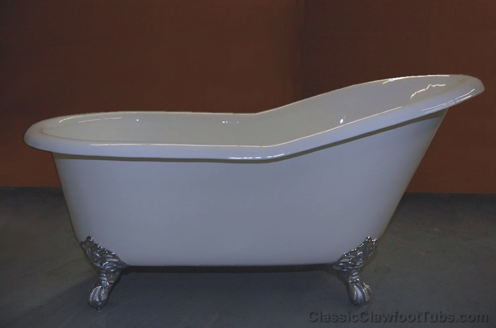 60 Cast Iron Slipper Clawfoot Tub Classic Clawfoot Tub