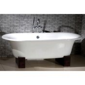 "60"" Cast Iron Double Ended Oriental Tub"
