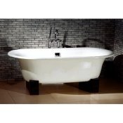 "69"" Cast Iron Double Ended Oriental Tub"