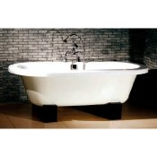 "70"" Cast Iron Double Ended Oriental Tub"