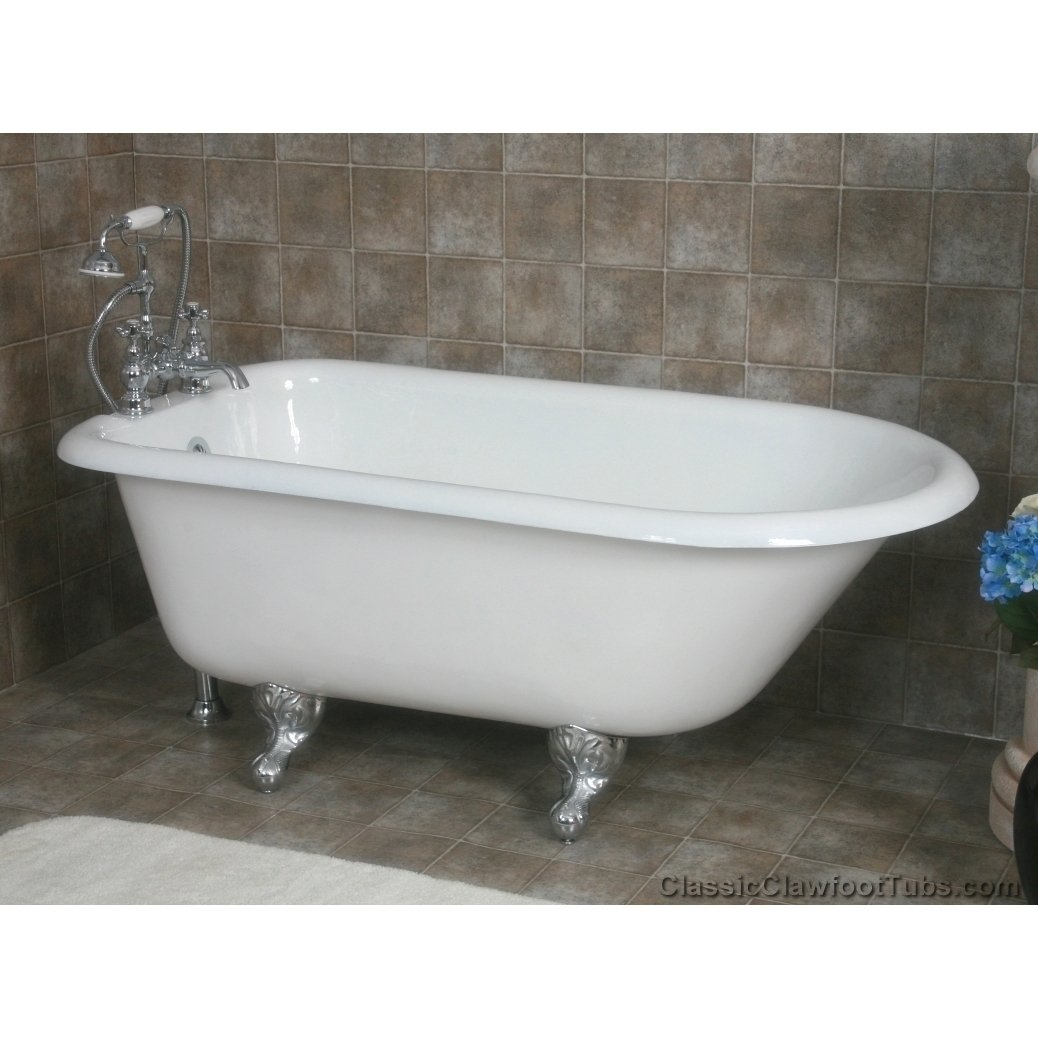 cast iron clawfoot tub for sale 55
