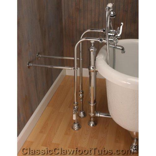 Classic Freestanding British Telephone Faucet Set