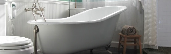 Beautiful Freestanding Bathtubs, Antique Faucets, and more