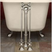 Clawfoot Tub English Faucet W Diverter No Handheld