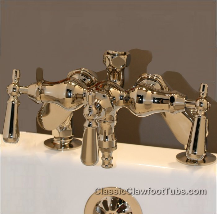 Clawfoot Tub Deckmount Shower Enclosure Combo W Faucet Option Classic Claw