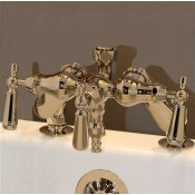 Clawfoot Tub Deckmount Faucet W/ Diverter