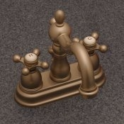 "Victorian Collection 4"" Center Set W/ Pop Up Drain - SH812"