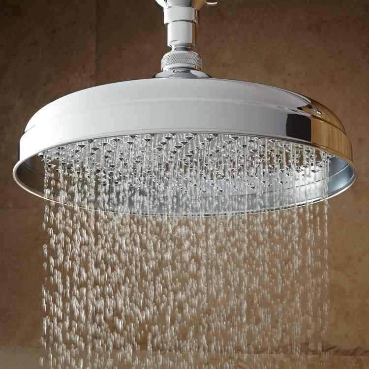Shower Head Rain Fall Classic Clawfoot Tub