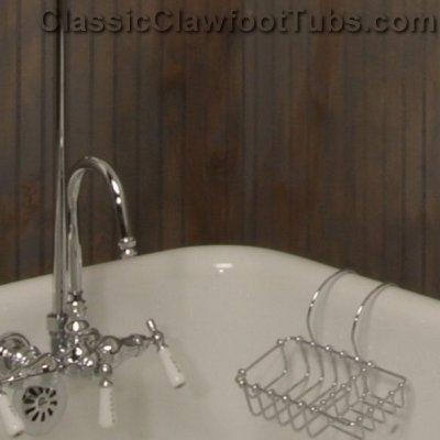 Soap Holder Classic Clawfoot Tub