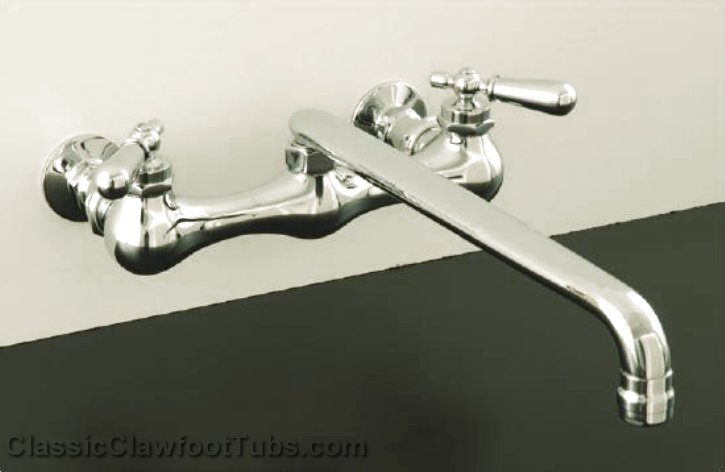 Wall Mount Kitchen Faucet Str P0828 Classic Clawfoot Tub