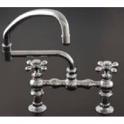 Deck Mount Pot Filler Spout Kitchen Faucet- STR-P0833