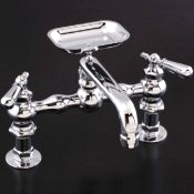 Deck Mounted Kitchen Faucet with Soap Dish- STR-P0887