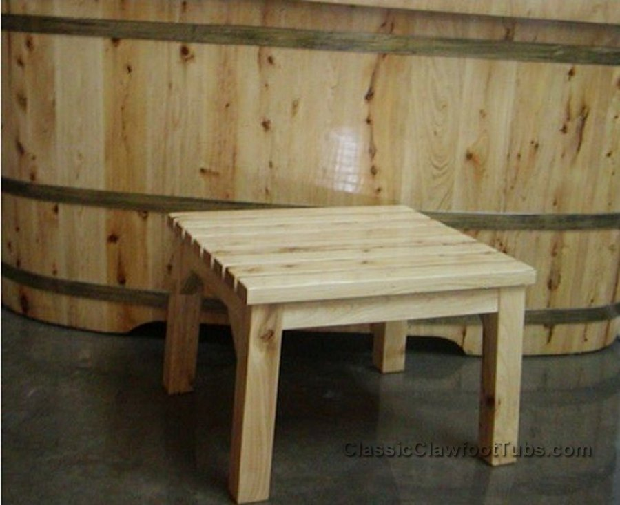 Wooden Step-Stool & Wooden Step-Stool | Classic Clawfoot Tub islam-shia.org